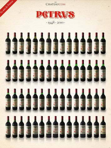 Collection Petrus 1948 - 2010
