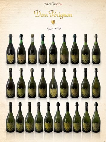 Collection Moet et Chandon Dom Perignon 19755 - 2003