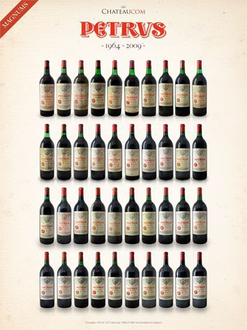Collection Petrus Magnums 1964 - 2010