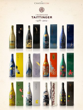 Verticale de Taittinger Collection 1978-2002