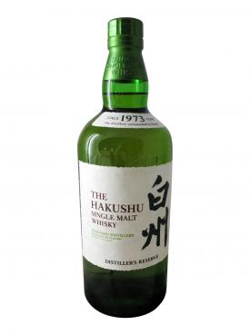Whisky Distiller\'s reserve Hakushu Non vintage Bottle (70cl)