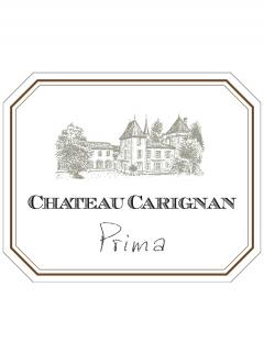 Château Carignan Prima 2011 Original wooden case of 6 bottles (6x75cl)