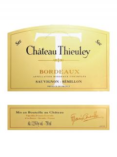 Château Thieuley 2000 12 bottles (12x75cl)