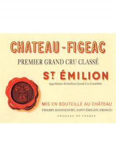 Château Figeac 2012 Original wooden case of one double magnum (1x300cl)