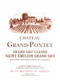 Château Grand Pontet 2008 <br /><span>Original wooden case of 12 bottles (12x75cl)</span>