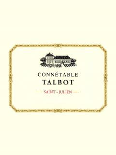 Connetable Talbot 2011 Original wooden case of 6 bottles (6x75cl)