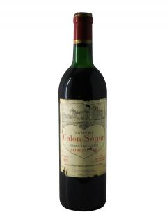 Château Calon-Ségur 1989 Bottle (75cl)
