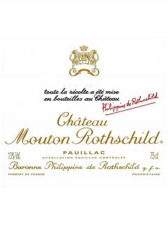Château Mouton Rothschild 1999 Original wooden case of one jéroboam (1x500cl)