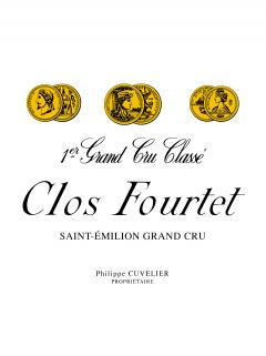 Clos Fourtet  1986 Original wooden case of one jéroboam (1x500cl)