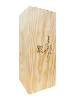 Château Mouton Rothschild 2015 <br /><span>Original wooden case of one double magnum (1x300cl)</span>