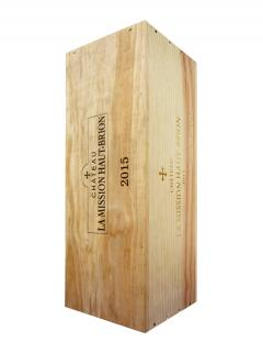 Château La Mission Haut-Brion 2015 Original wooden case of one impériale (1x600cl)