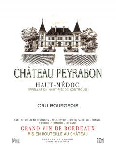 Château Peyrabon 2002 Original wooden case of 6 bottles (6x75cl)