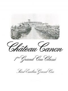 Château Canon 2001 Original wooden case of 12 bottles (12x75cl)