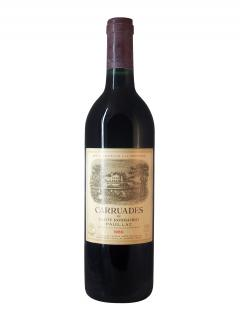 Carruades de Lafite 1989 <br /><span>Bottle (75cl)</span>