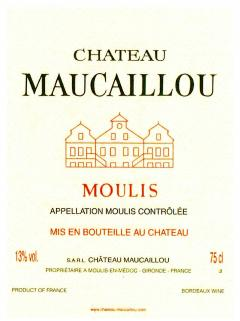 Château Maucaillou 2014 Original wooden case of 6 bottles (6x75cl)