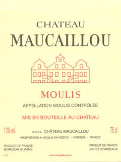 Château Maucaillou 2014 Original wooden case of 3 magnums (3x150cl)