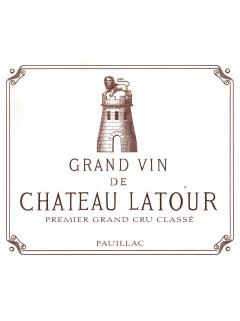 Château Latour 2007 Original wooden case of 6 bottles (6x75cl)