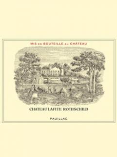 Château Lafite Rothschild 2013 <br /><span>Original wooden case of 6 bottles (6x75cl)</span>