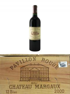 Pavillon Rouge du Château Margaux 2000 Original wooden case of 12 bottles (12x75cl)