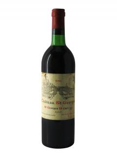 Château Saint-Georges (Côte Pavie) 1980 <br /><span>Bottle (75cl)</span>