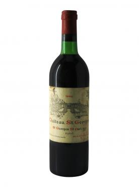 Château Saint-Georges (Côte Pavie) 1980 Bottle (75cl)