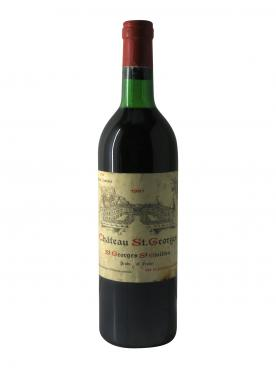 Château Saint-Georges (Côte Pavie) 1981 Bottle (75cl)