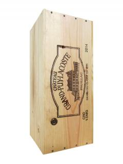 Château Grand-Puy-Lacoste 2014 Original wooden case of one double magnum (1x300cl)