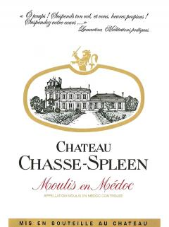 Château Chasse-Spleen 2014 Original wooden case of 3 magnums (3x150cl)