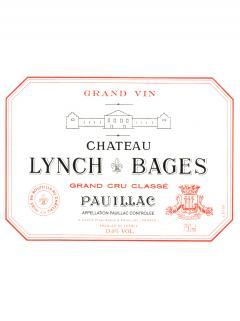 Château Lynch Bages 2014 Original wooden case of one double magnum (1x300cl)