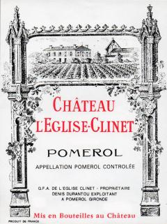 Château l'Eglise-Clinet 1998 <br /><span>Original wooden case of 12 bottles (12x75cl)</span>