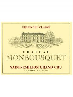 Château Monbousquet 2014 Original wooden case of 6 magnums (6x150cl)