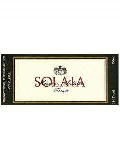 Marchesi Antinori Solaia  2013 Original wooden case of one double magnum (1x300cl)
