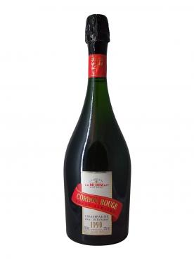 Champagne G.H Mumm Cordon Rouge Brut 1990 Bottle (75cl)