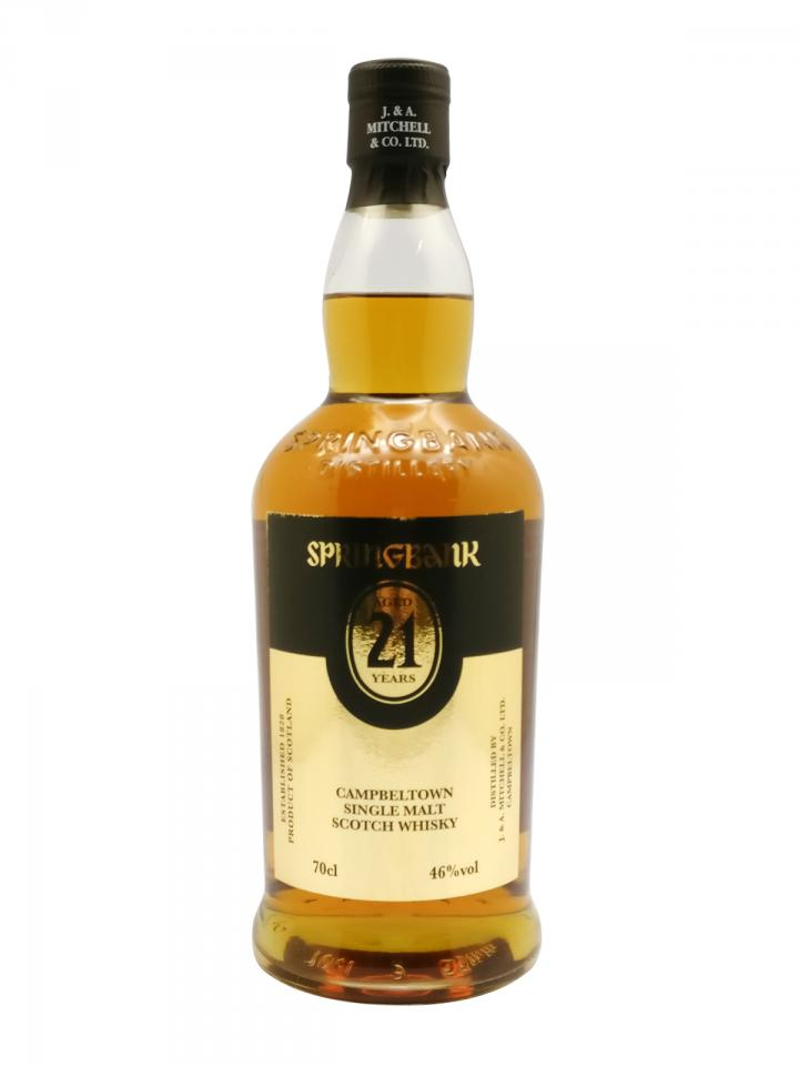 Whisky Springbank Aged 21 Years J. & A. Mitchell & Co. LTD. Non vintage Bottle (70cl)