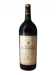 Château Talbot 1988 Original wooden case of one magnum (1x150cl)
