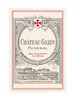 Château Gazin 2013 <br /><span>Original wooden case of 1 bottle (1x75cl)</span>