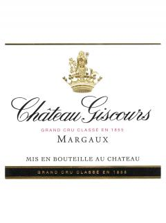 Château Giscours 2012 Original wooden case of 12 bottles (12x75cl)