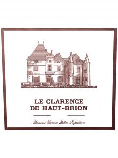 Le Clarence de Haut-Brion 2014 Original wooden case of 12 bottles (12x75cl)