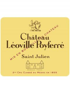 Château Léoville Poyferré 1996 Original wooden case of 12 bottles (12x75cl)