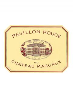 Pavillon Rouge du Château Margaux 2012 Original wooden case of 12 bottles (12x75cl)