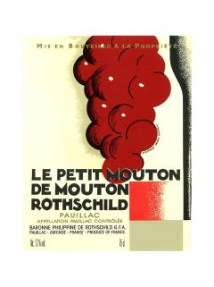Le Petit Mouton de Mouton Rothschild 2013 Original wooden case of 6 bottles (6x75cl)