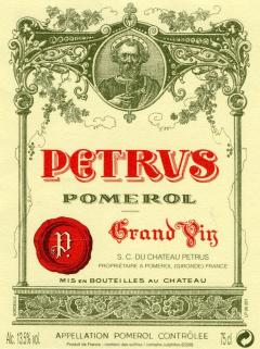 Pétrus 1981 Bottle (75cl)