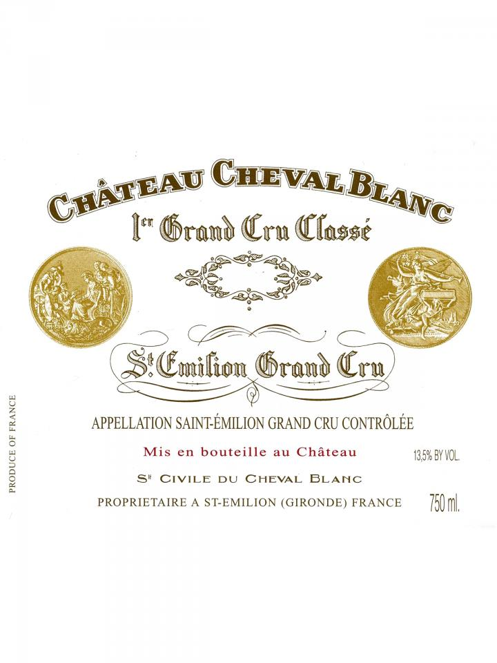 Château Cheval Blanc 2003 Original wooden case of 3 bottles (3x75cl)
