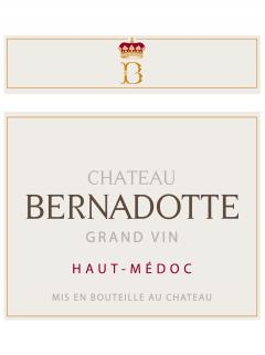 Château Bernadotte 2009 Original wooden case of 12 bottles (12x75cl)