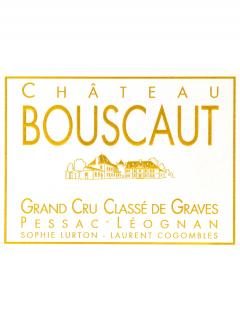 Château Bouscaut 1976 Original wooden case of 12 bottles (12x75cl)