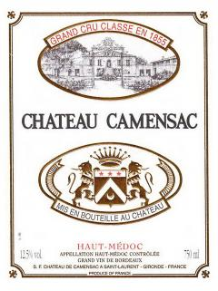 Château de Camensac 2012 Original wooden case of 12 bottles (12x75cl)