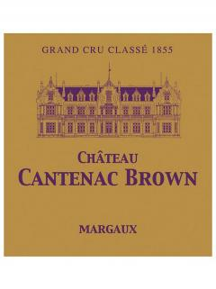 Château Cantenac Brown 2006 Original wooden case of 12 bottles (12x75cl)