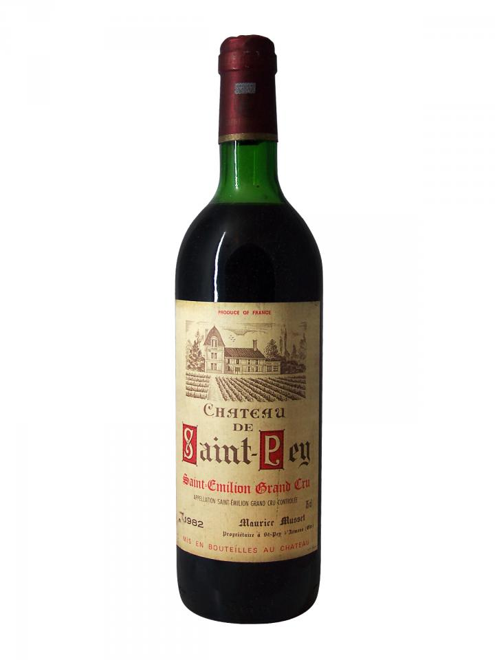 Château de Saint-Pey 1982 Bottle (75cl)