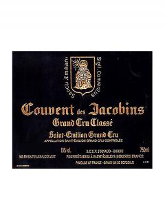 Couvent des Jacobins 2008 Original wooden case of 12 bottles (12x75cl)