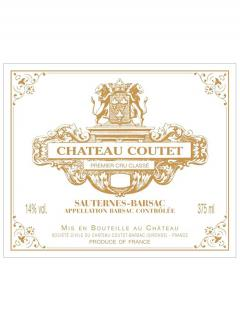 Château Coutet 2007 Original wooden case of 6 half bottles (6x37.5cl)